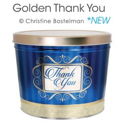 Golden Thank You / 6.5 Gallon Tin