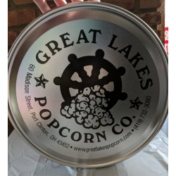 lid for Greatlakes popcorn tin